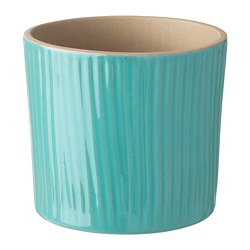 CHIAFRÖN - Plant pot, turquoise