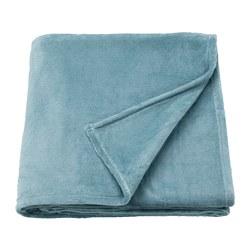 TRATTVIVA - Bedspread, light blue