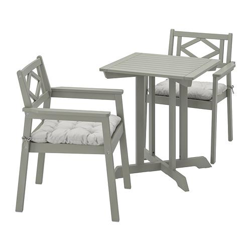 BONDHOLMEN meja+2 kursi dg sdrn lgn, l.ruang