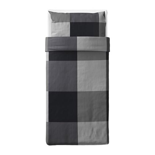BRUNKRISSLA sarung quilt dan sarung bantal