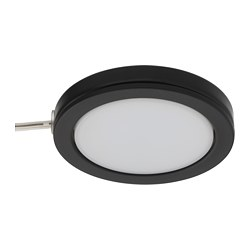 OMLOPP - LED spotlight, black