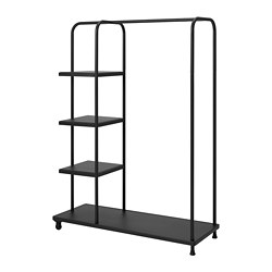 KORNSJÖ - Clothes rack, black