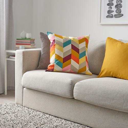 HANNELISE - bantal kursi, aneka warna, 50x50 cm | IKEA Indonesia - PE769951_S4