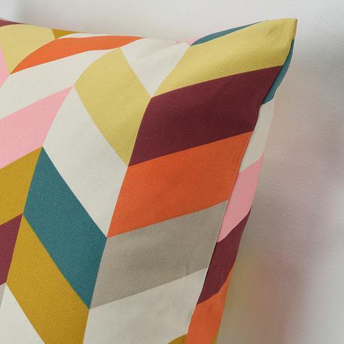 HANNELISE - bantal kursi, aneka warna, 50x50 cm | IKEA Indonesia - PE769950_S4