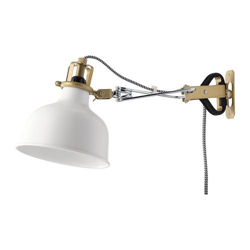 RANARP lampu sorot dinding/jepit