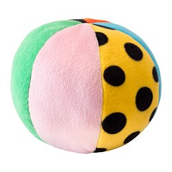 KLAPPA - Soft toy, ball, multicolour