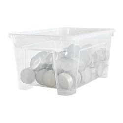 SAMLA - Kotak, transparan