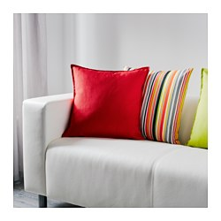 GURLI - Cushion cover, red