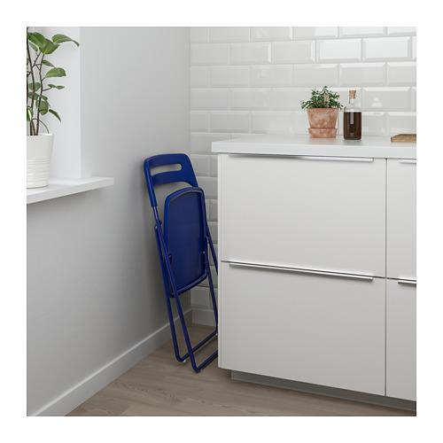NISSE/MELLTORP meja dan 2 kursi lipat