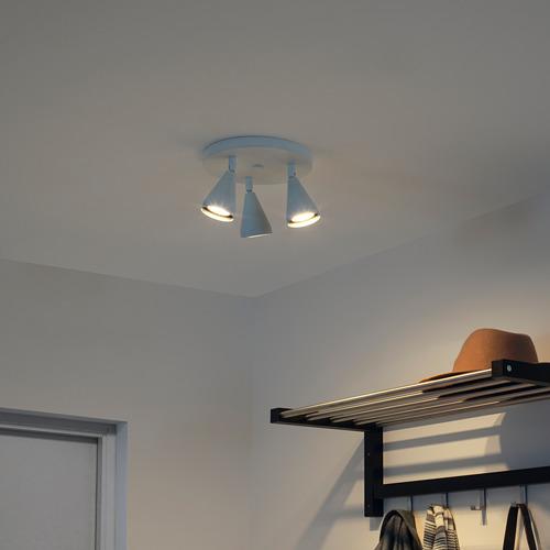 NÄVLINGE lampu sorot plafon dg 3 tempat