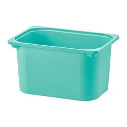 TROFAST - Kotak penyimpanan, toska