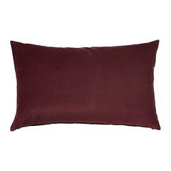 SANELA - Sarung bantal kursi, merah tua