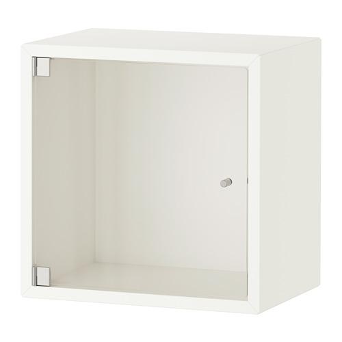 EKET - kabinet dinding dengan pintu kaca, putih, 35x25x35 cm   IKEA Indonesia - PE770337_S4