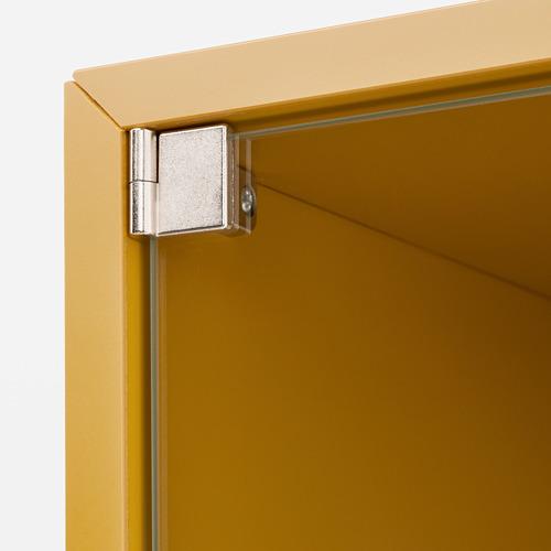 EKET - kabinet dinding dengan pintu kaca, emas-cokelat, 35x35x35 cm | IKEA Indonesia - PE770359_S4