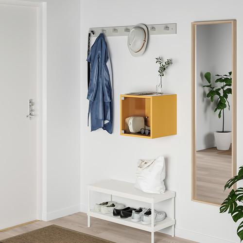 EKET - kabinet dinding dengan pintu kaca, emas-cokelat, 35x35x35 cm | IKEA Indonesia - PE770374_S4