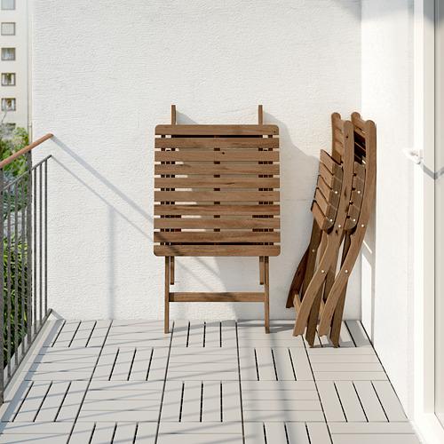 ASKHOLMEN meja+2 kursi, luar ruang