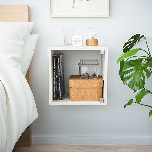 EKET - kabinet dinding dengan pintu kaca, putih, 35x35x35 cm   IKEA Indonesia - PE770372_S4