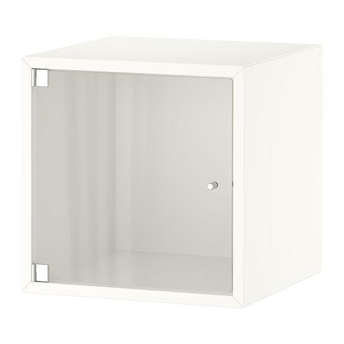 EKET - kabinet dinding dengan pintu kaca, putih, 35x35x35 cm   IKEA Indonesia - PE770373_S4