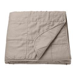 GULVED - Bedspread, natural