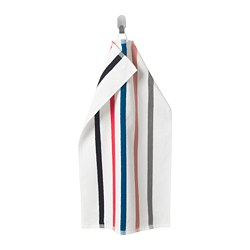 FOSKÅN - Hand towel, white/multicolour