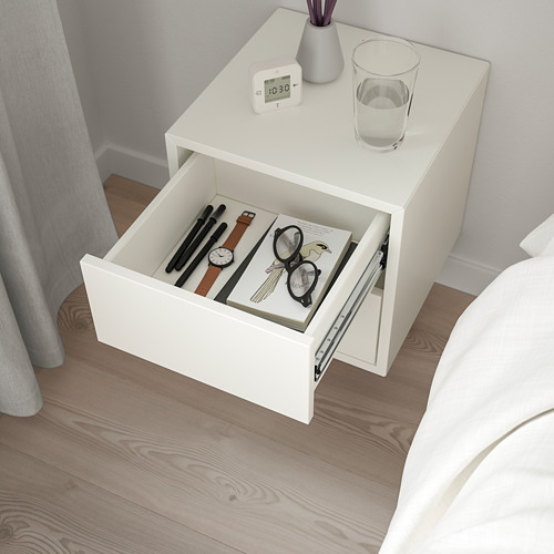EKET wall cabinet with 2 drawers