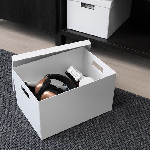 TJENA kotak penyimpanan dengan penutup