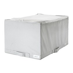 STUK - Storage case, white/grey