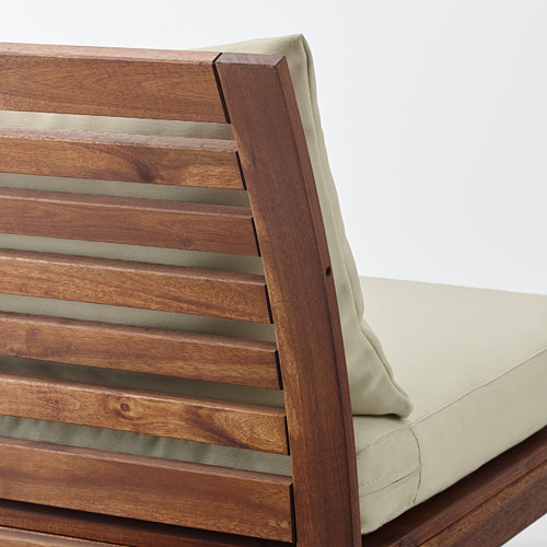 ÄPPLARÖ sofa sdt 3 ddkn mdlr, luar ruangan