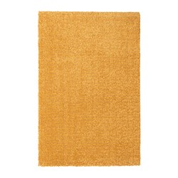 LANGSTED - Rug, low pile, yellow