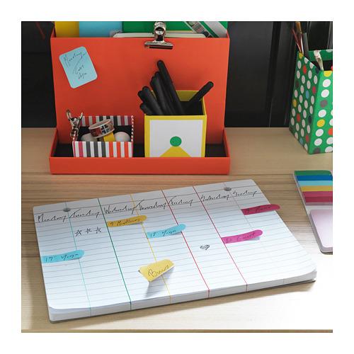 KNALLGUL weekly planner pad