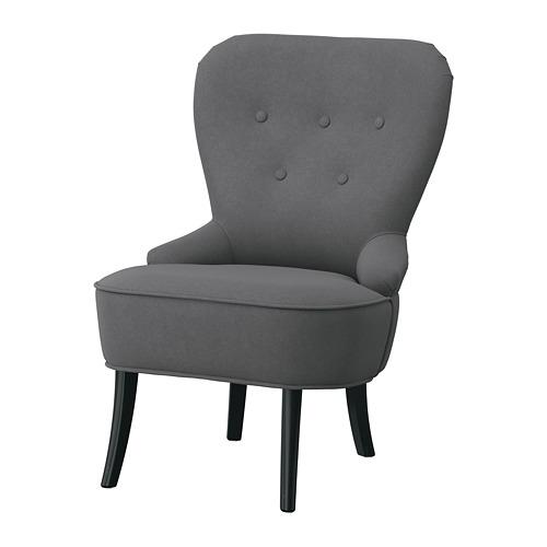 REMSTA - kursi berlengan, Hakebo abu-abu tua   IKEA Indonesia - PE783326_S4