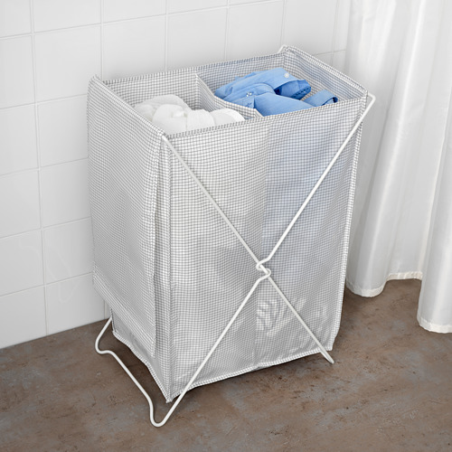 TORKIS - keranjang laundry, putih/abu-abu, 90 l | IKEA Indonesia - PE640055_S4