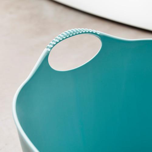 TORKIS - keranjang laundry fleksi, d/l ruang, biru, 35 l | IKEA Indonesia - PE629139_S4