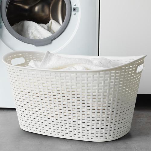 KYFFE - keranjang laundry, putih | IKEA Indonesia - PE675561_S4