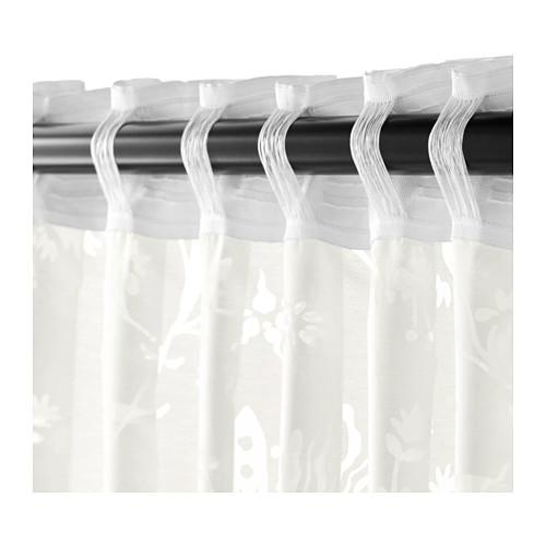 BORGHILD sheer curtains, 1 pair