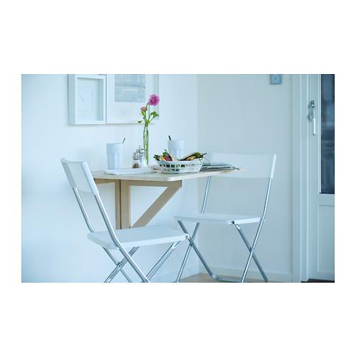 NORBO daun meja lipat dipasang di dinding