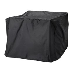 TOSTERÖ - Cover for furniture set, black