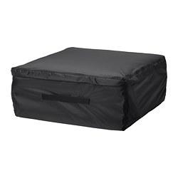 TOSTERÖ - Tas penyimpanan bantal, hitam