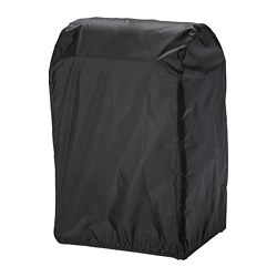 TOSTERÖ - Cover for barbecue, black