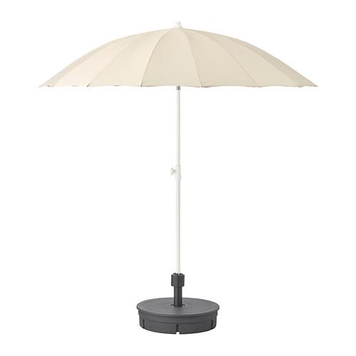 SAMSÖ tenda payung dengan dasar