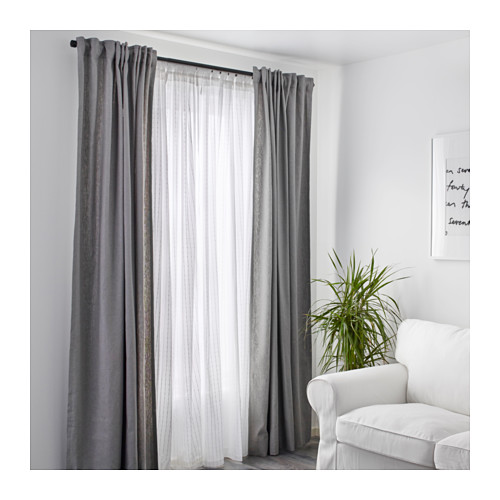MATILDA sheer curtains, 1 pair