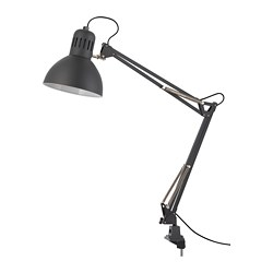 TERTIAL - Work lamp, dark grey