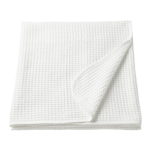 VÅRELD - penutup tempat tidur , putih, 150x250 cm | IKEA Indonesia - PE726944_S4