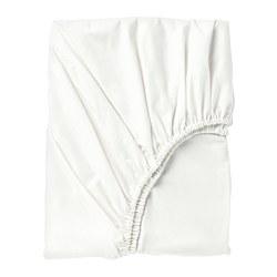 SÖMNTUTA - Seprai berkaret, putih