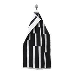 KINNEN - Handuk tangan, hitam/putih