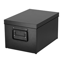 MANICK - Box with lid, black