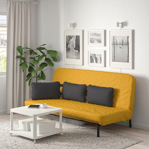 NYHAMN sofa tmpt tdr dg tiga bantal kursi