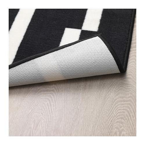 JÖRSBY karpet, bulu tipis