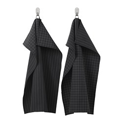 IKEA 365+ - Tea towel, black