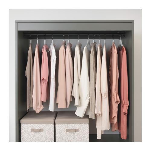 BRYGGJA lemari pakaian terbuka